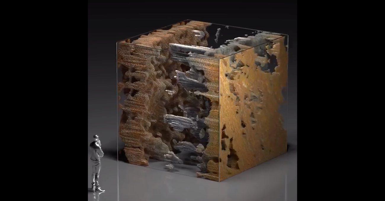 Refik Anadol, NASA'nın Çektiği 500.000 Mars Fotoğrafı Üzerinde Çalışıyor