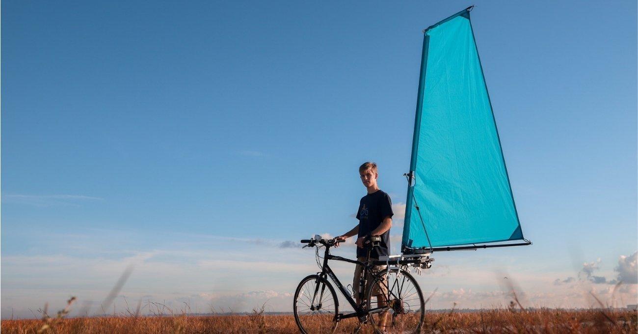 CycleWing: Bisiklet İçin Yelken