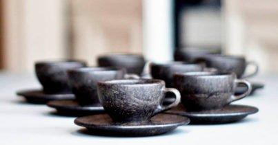 Kaffeeform: Doğal Bir Ürün Malzemesi Olarak Geri Dönüştürülmüş Kahve Telvesi