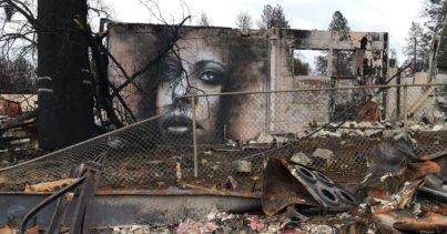 Shane Grammer - Yangın Felaketinin Yaralarını Murallarla Sarmak