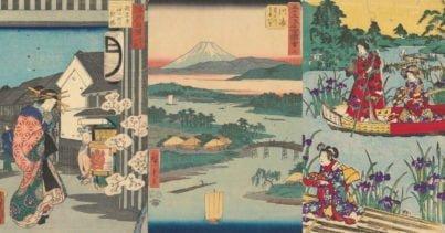 Van Gogh'un Koleksiyonundaki 500 Japon Ahşap Baskı Resim İnternete Açıldı
