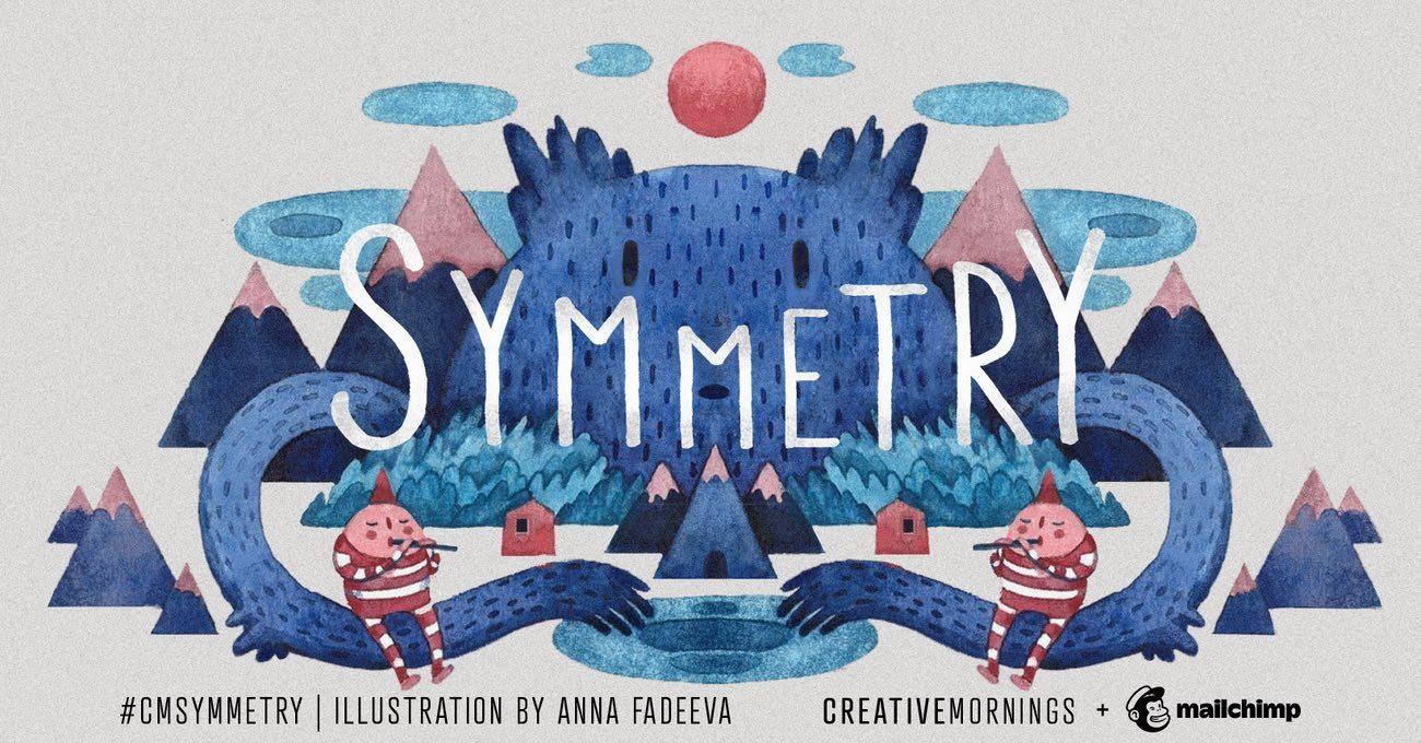 CreativeMornings'te Bu Ay: Simetri