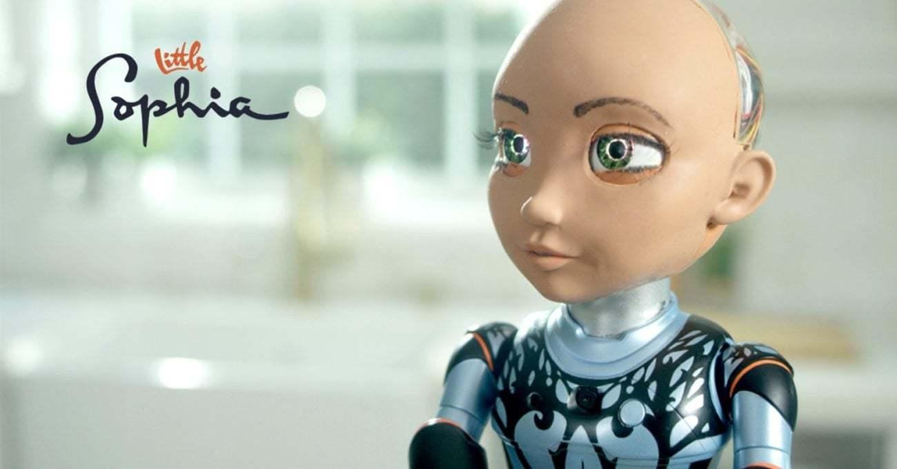Robot Sophia'ya Küçük Kardeş: Little Sophia