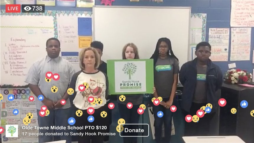 Sandy Hook Promise Facebook Canlı Yayını Bağış Mecrası Yaptı [SXSW 2019]