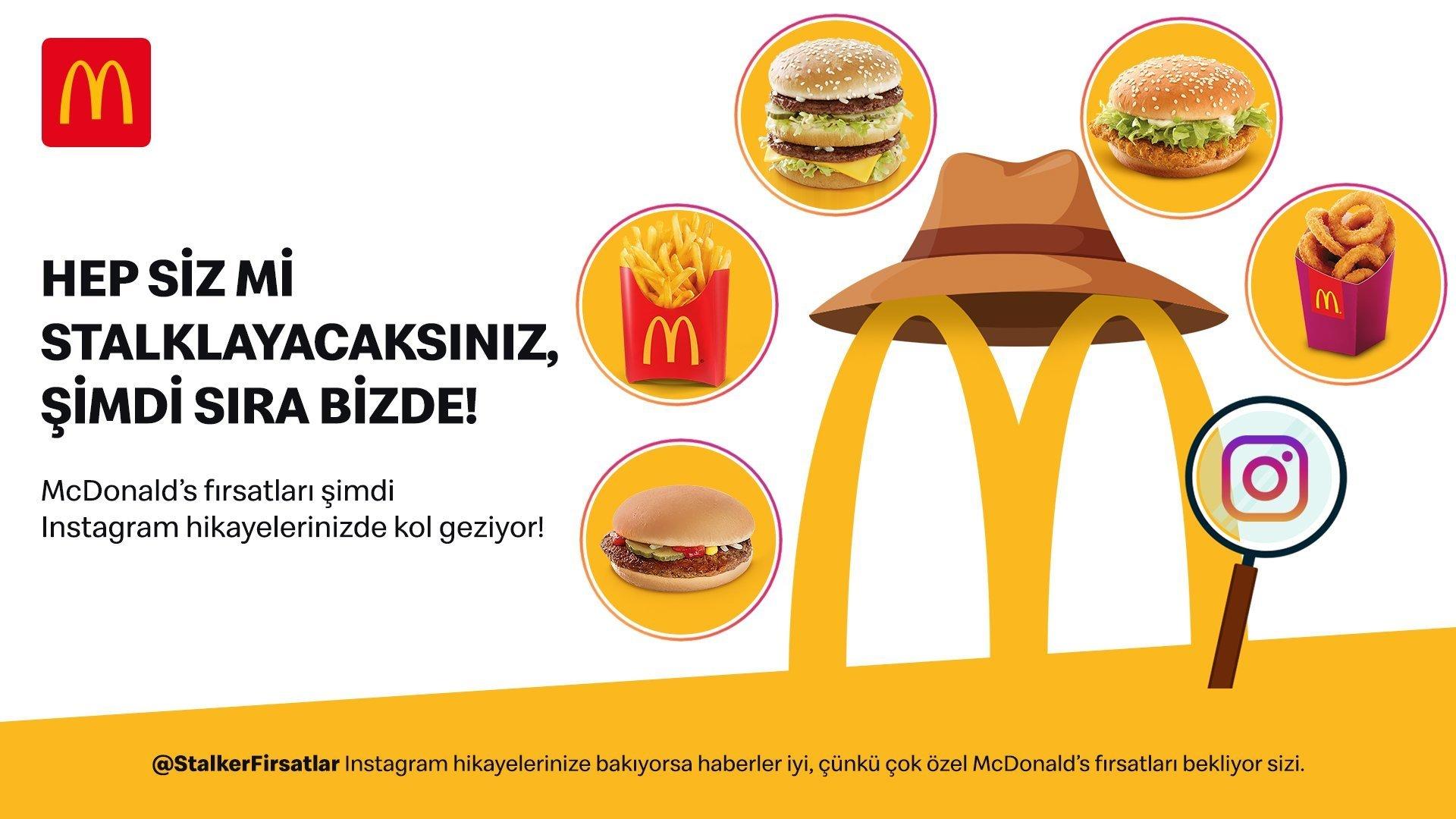 McDonald's Türkiye Yeni Stalker'ınız Olabilir
