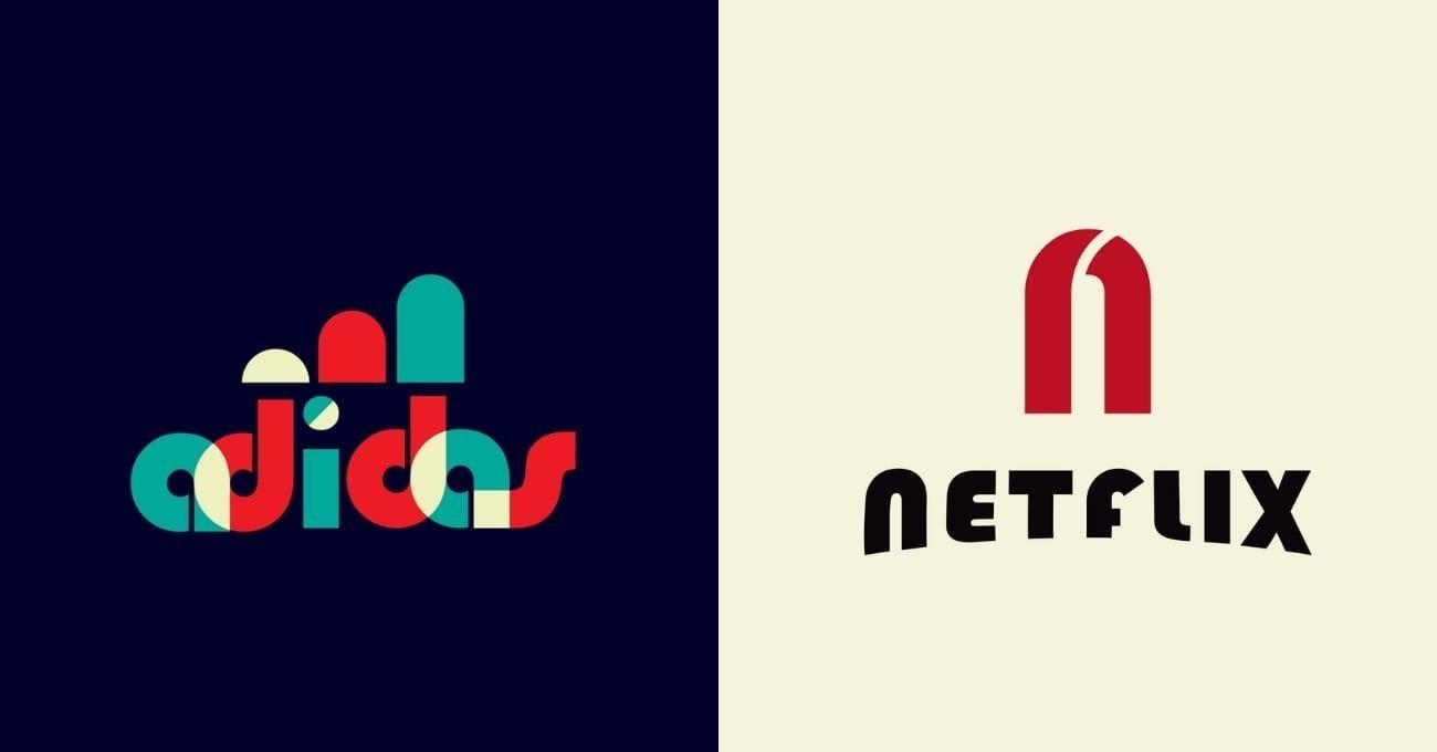 Ünlü Logolara Bauhaus Dokunuşu