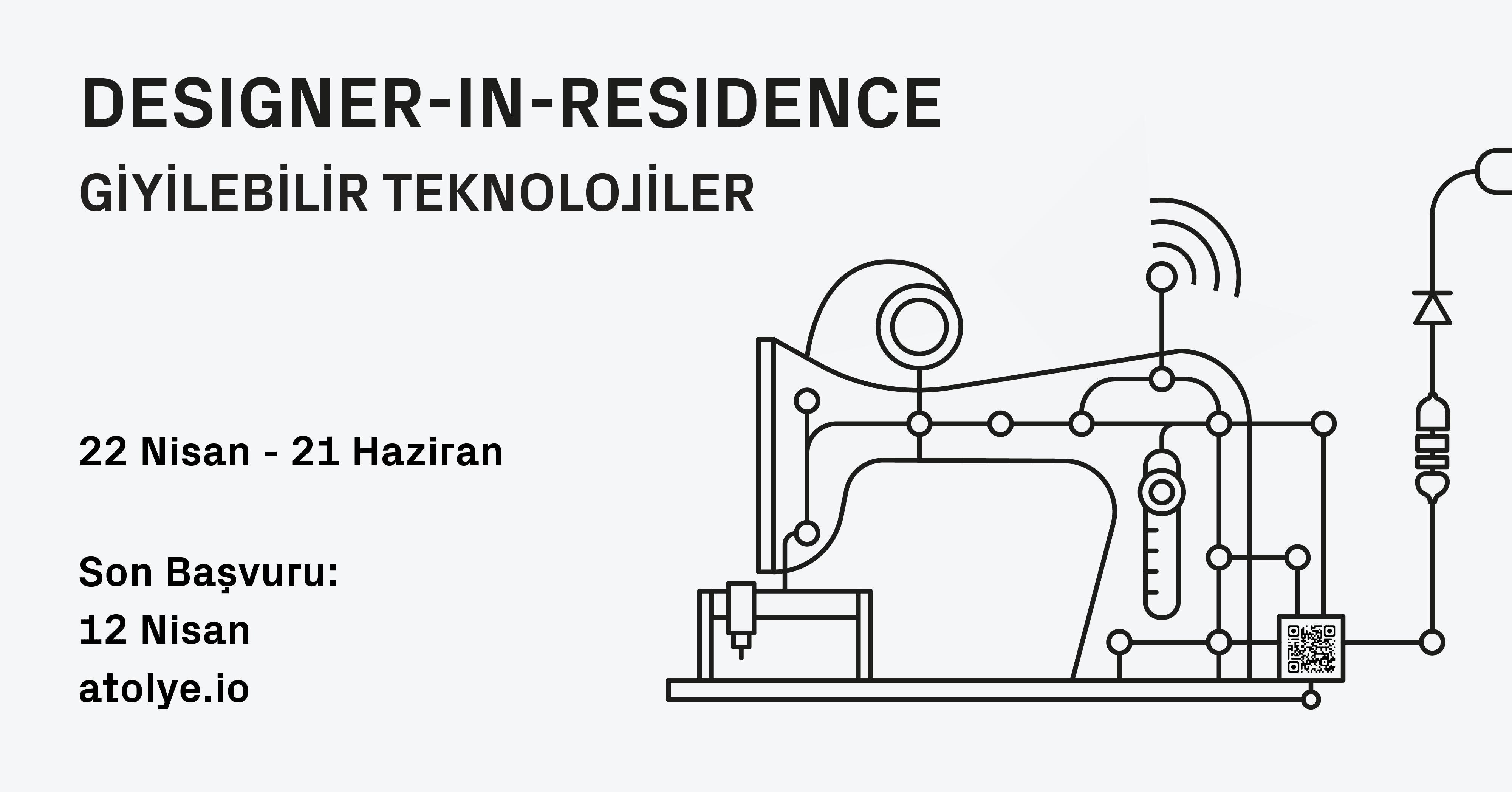 ATÖLYE'den Designer-in-Residence ile Tasarımcılara Açık Çağrı