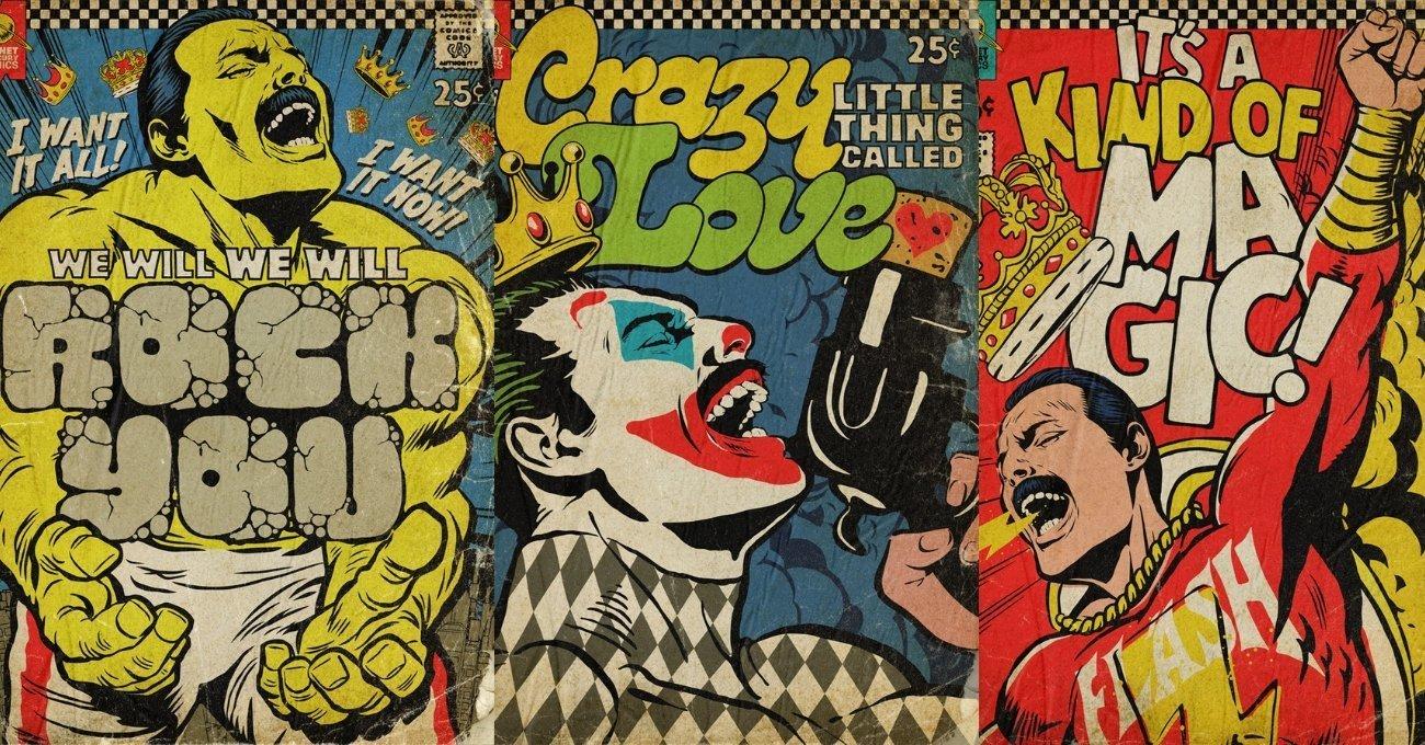 Freddie Mercury Çizgi Roman Kahramanı Olsaydı?