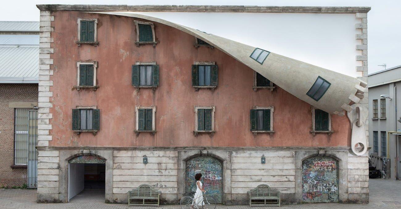 Milano Tasarım Haftası'nda Fermuarı Kapanmayan Bir Bina