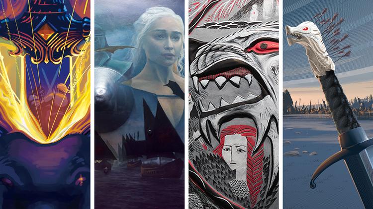 18 Sanatçı Game of Thrones'un İkonik Aksesuarlarını Yeniden Yarattı
