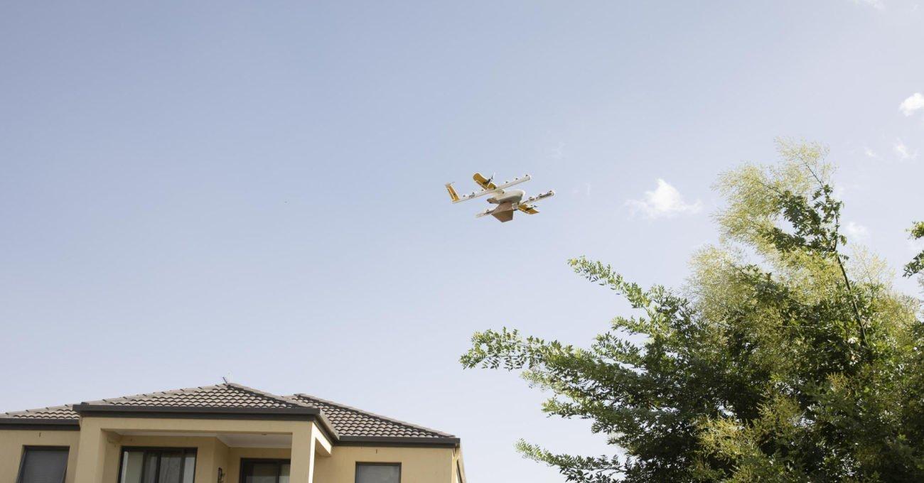 Google'ın Drone'la Teslimat Projesi Wing Hizmete Başlıyor