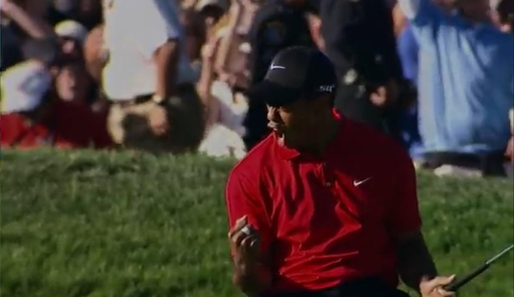 Nike Tiger Woods'un Masters Turnuvası Şampiyonluğunu Kutluyor