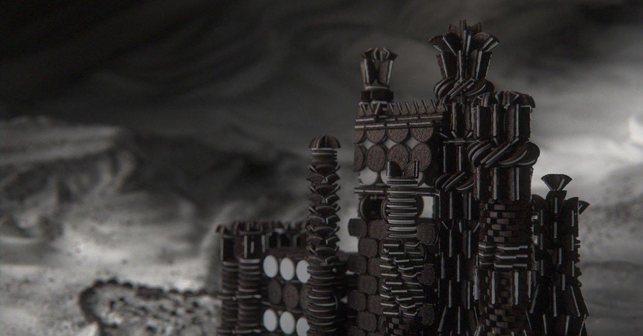 Oreo ile Baştan Yaratılmış Game of Thrones Jeneriği