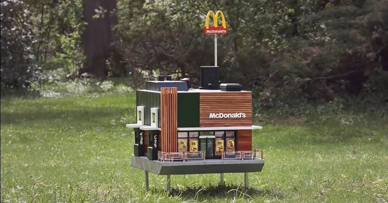 McDonald's'tan Arılara Özel Restoran