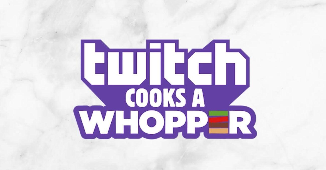 Twitch İzleyicileri Kendi Özgün Whopper'ını Yapıyor