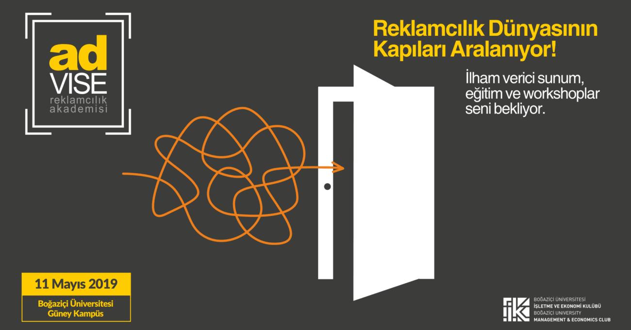 Advise Reklamcılık Akademisi 11 Mayıs'ta Boğaziçi Üniversitesi'nde Gerçekleşecek