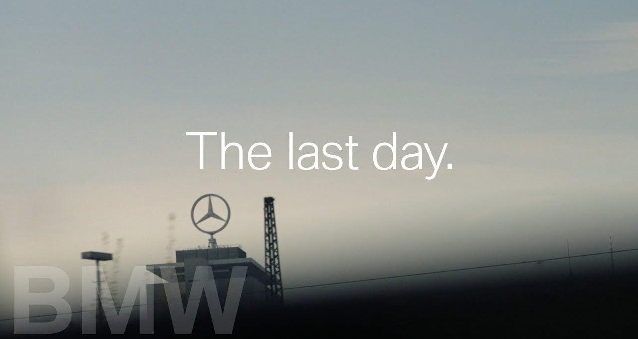 Bugün Emekli Olan Mercedes CEO'suna BMW'den Esprili Teşekkür Reklamı