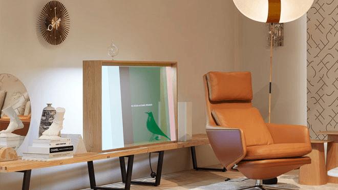 Panasonic'ten Estetik Tasarıma Sahip Şeffaf Televizyon