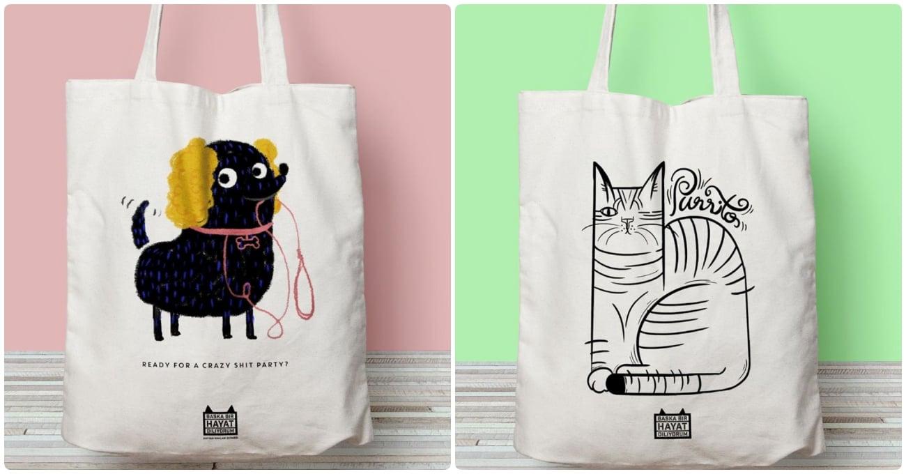Sokak Hayvanlarına Destek İçin Tasarımcı İmzalı Ürünler