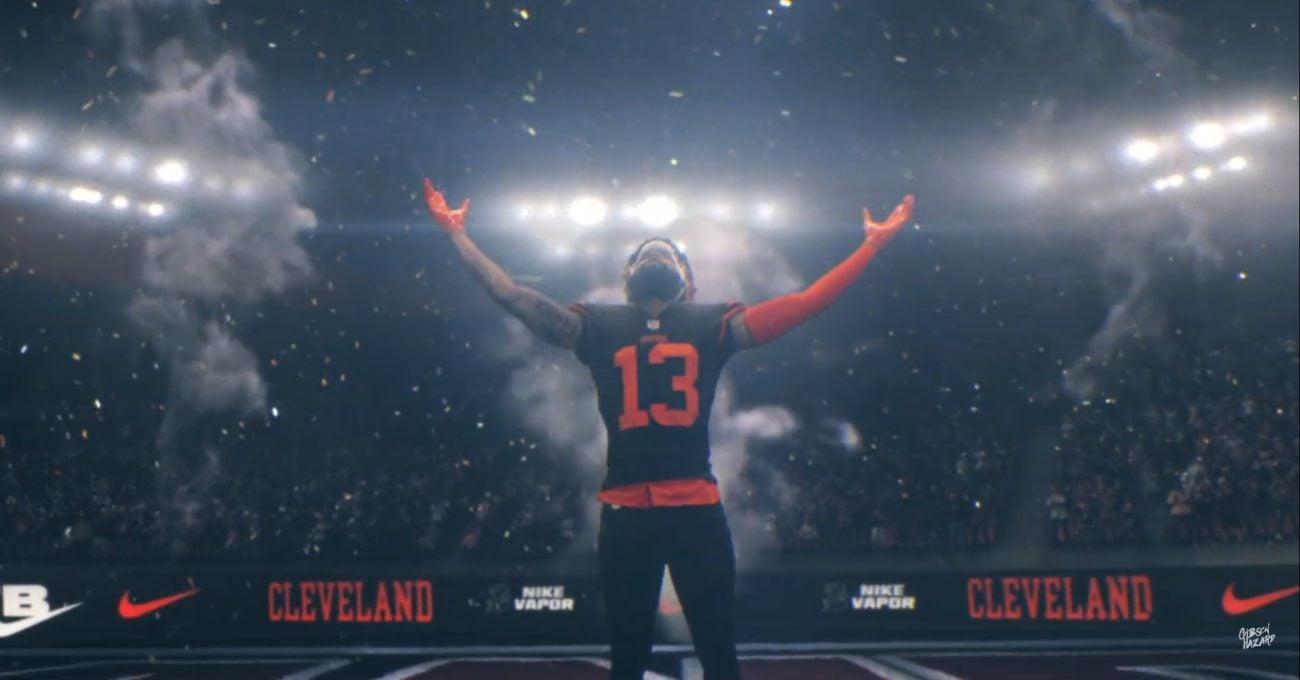 Nike'den Gibson Hazard İmzalı NFL Yıldızlarıyla Dolu Çarpıcı Bir Film