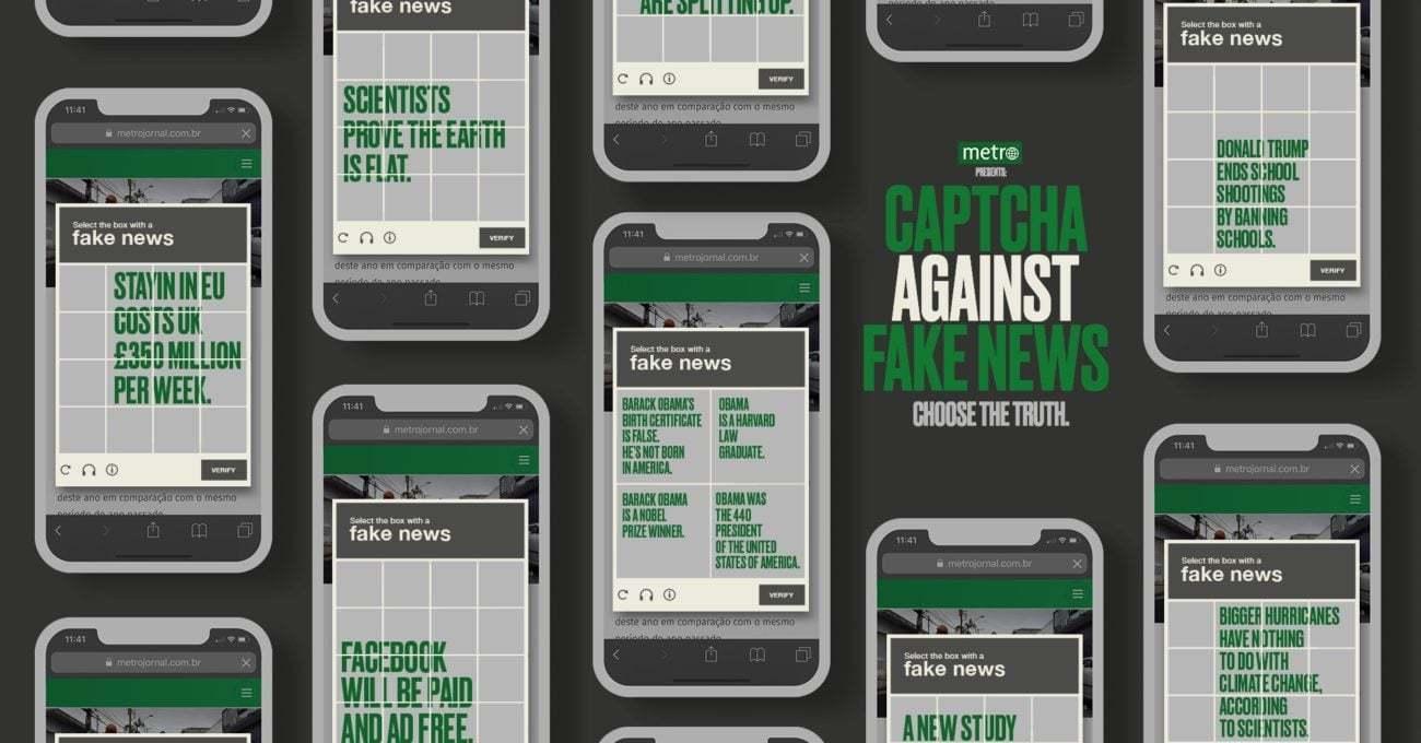 Sahte Haberlere Captcha Üzerinden Savaş