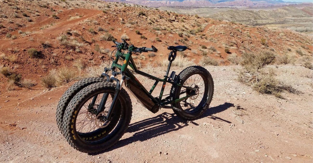 Zorlu Araziler İçin Çift Ön Tekerli Elektrikli Bisiklet