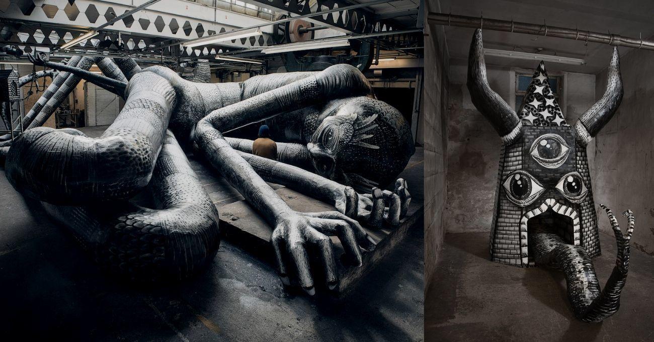 Terk Edilmiş Fabrika Devlerin Anıt Mezarına Dönüştü
