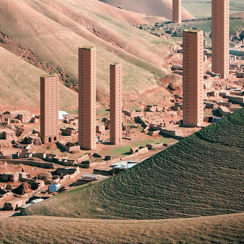 Geleneksel İran Mimarisi İçinden Yükselen Gökdelenler