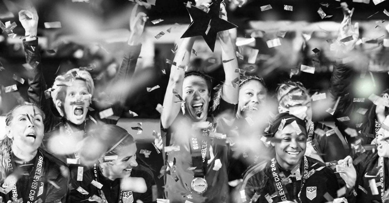 Nike ABD Kadın Futbolcularının Başarısını Kutluyor
