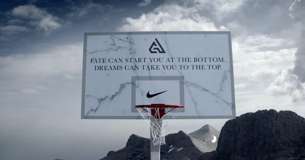 Nike Giannis Antetokounmpo için Yunan Tanrılarının Evine Çıktı