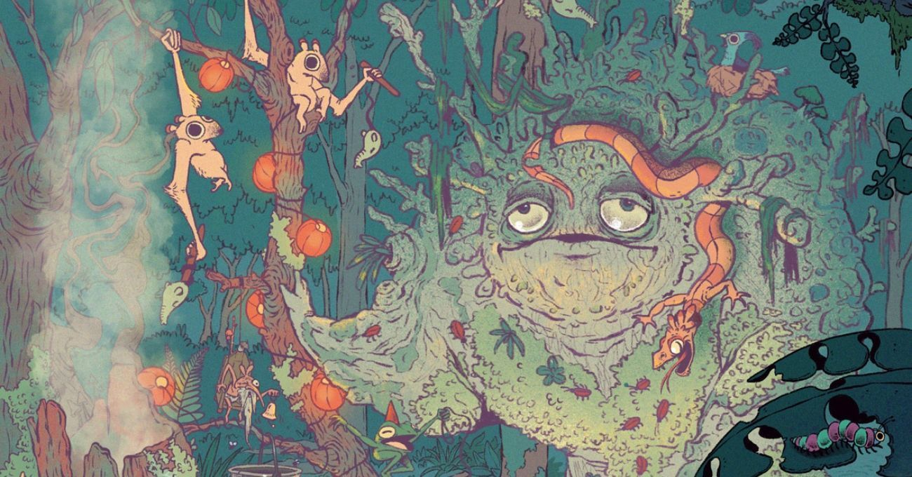 Alex Heywood'un Tuhaf Yaratıklarla Dolu Masalsı Dünyası