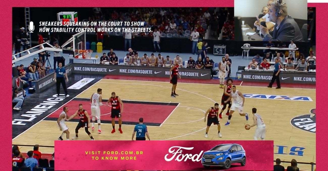 Ford Basketbol Sahalarındaki Ayakkabı Gıcırtısını Yok Etti