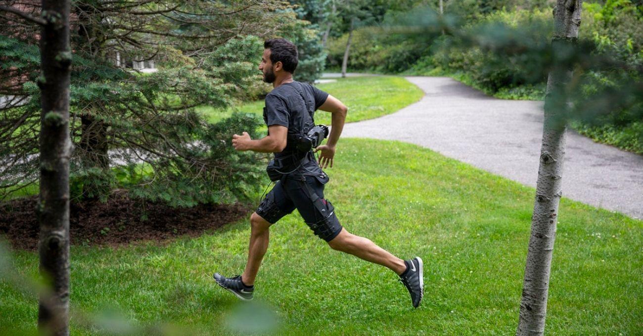 Yürümeyi ve Koşmayı Kolaylaştıran Dış İskelet