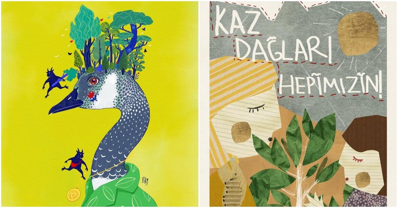 Tasarımcılar ve Sanatçılar Kaz Dağları için Üretiyor