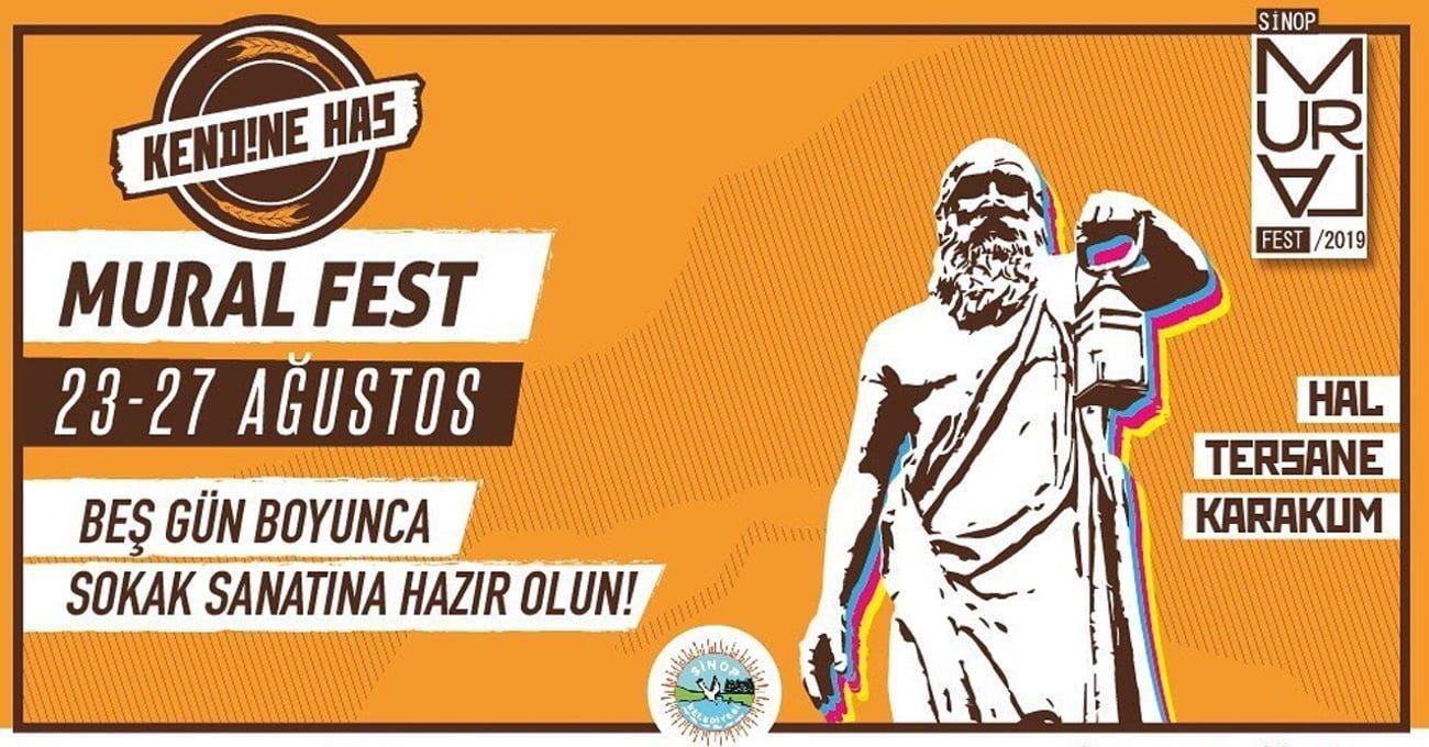 Sinop Mural Fest'te Esk Reyn ve Max On Duty Şehre Eserler Bırakacak