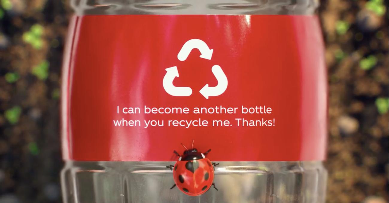 Coca-Cola Avustralya'nın Pet Şişeleri Tamamen Geri Dönüştürülmüş Plastikten