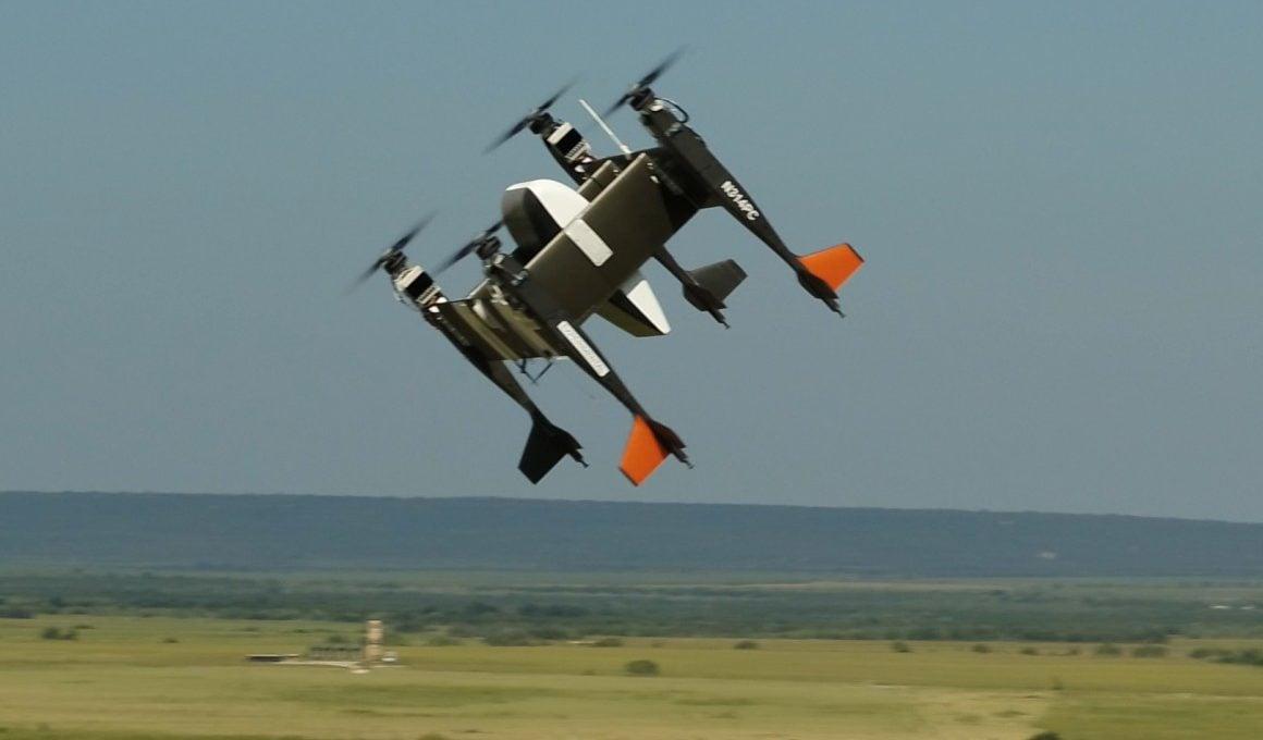 Otonom Kargo Drone'u APT 70