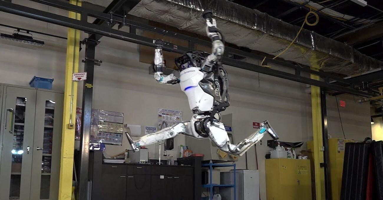 Boston Dynamics'in Atlas Robotu Yeni Hareketleri ile Karşımızda
