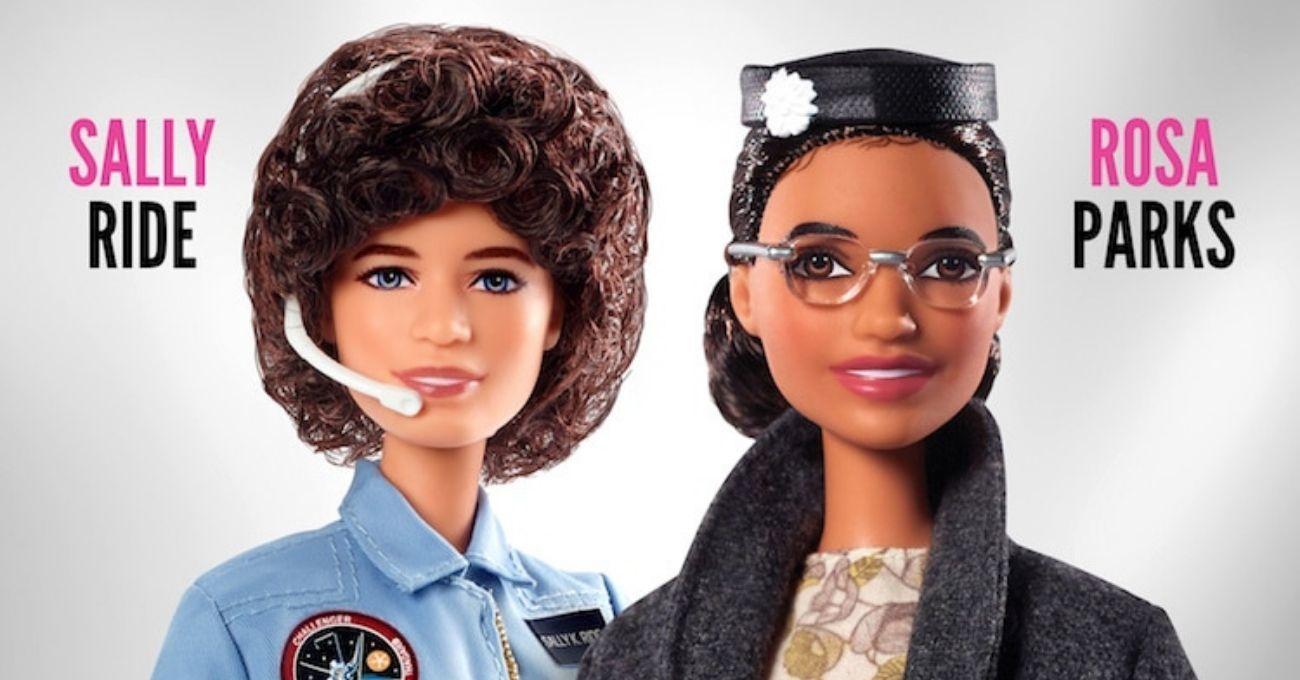 Barbie Irkçılık Karşıtı Aktivist Rosa Parks'ın ve Astronot Sally Ride'ın Bebeklerini Yaptı