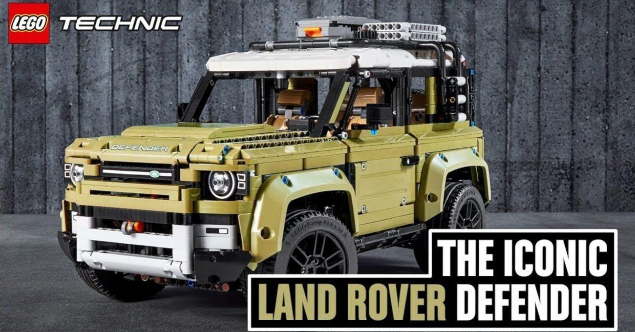 LEGO'dan 2020 Land Rover Defender Seti