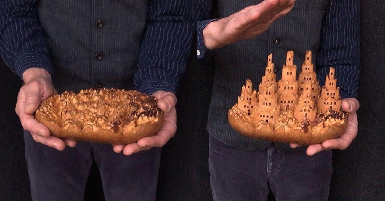 Ağacın İçinde Saklı Minyatür Kaleler