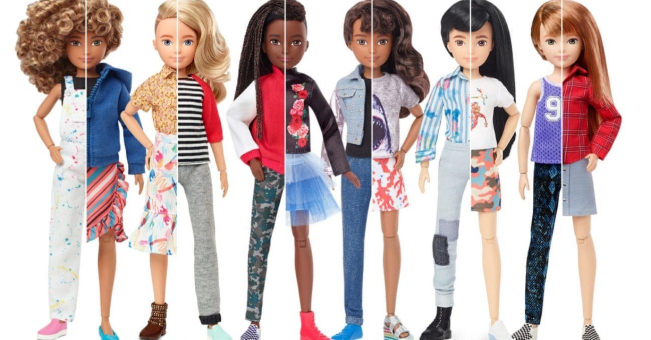 Mattel'den Nötr Cinsiyetli Oyuncak Bebek Serisi