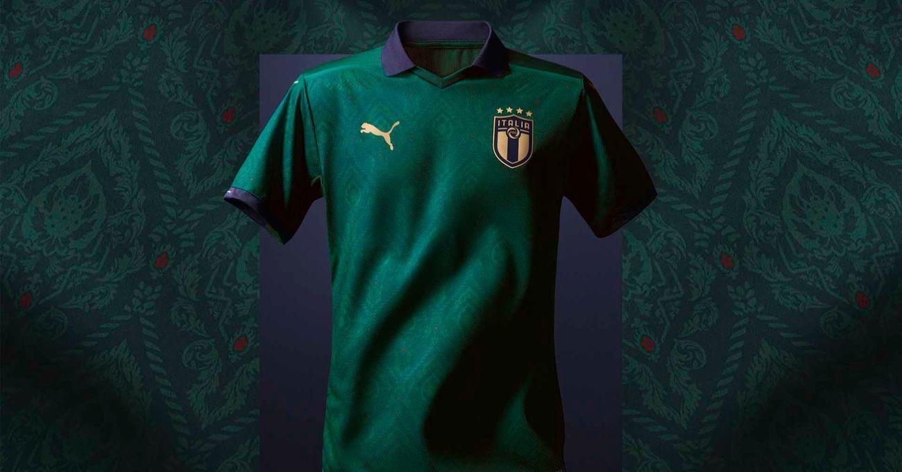 Puma'dan İtalyan Milli Takımı'na Rönesans'tan Esinlenen Yeni Forma