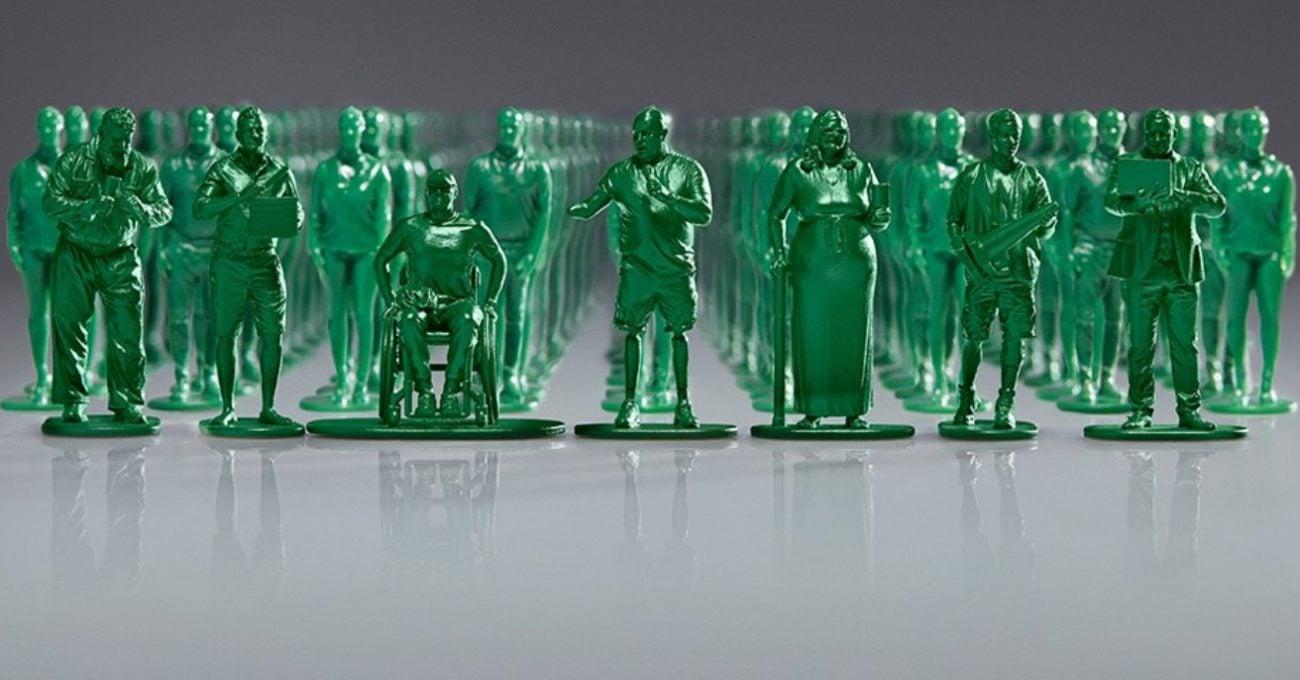Gazileri Temsil Eden 40 Bin Minyatür Asker Figürü