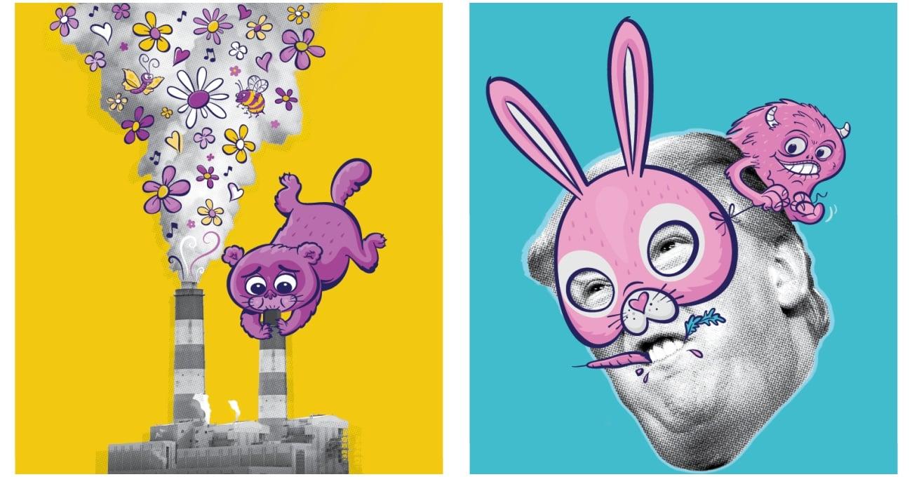 Sıkıcı Gerçeklere Ara Veren Animasyon Festivali Afişleri