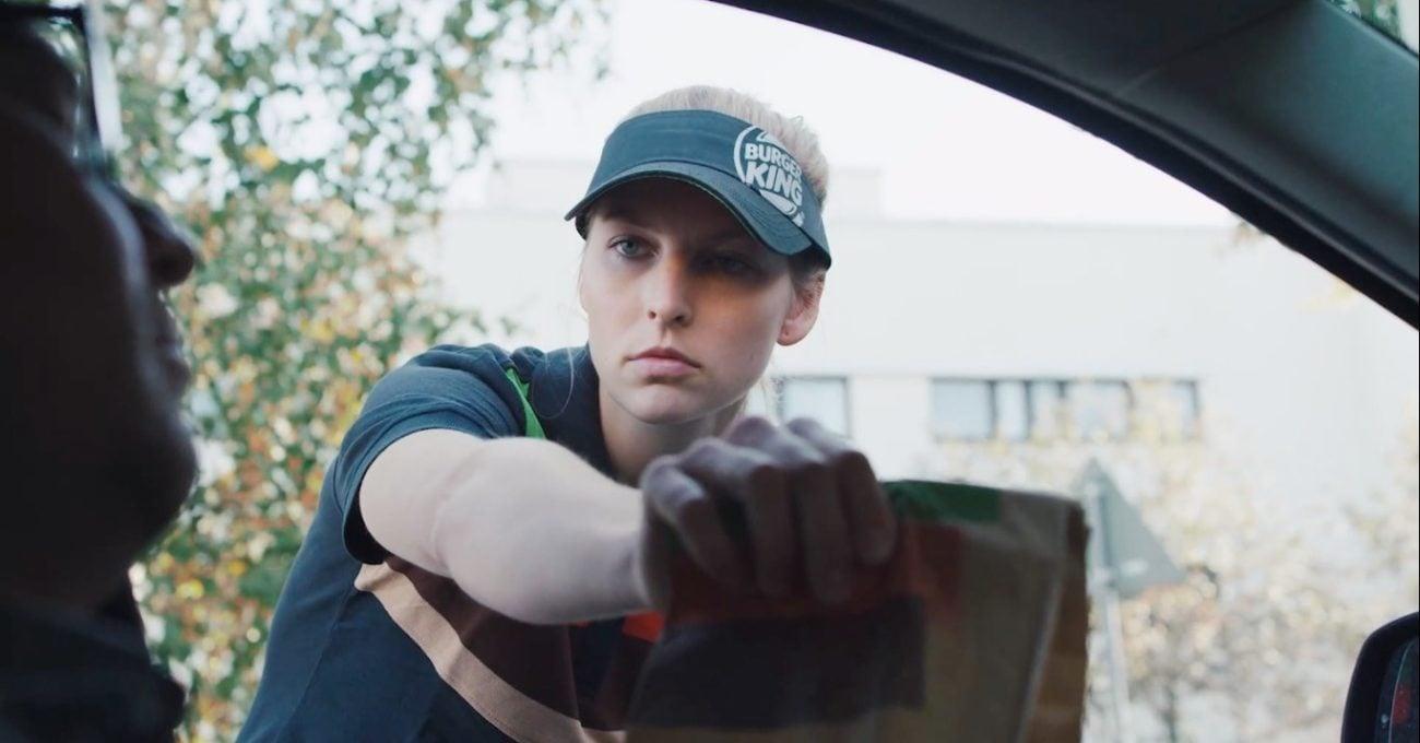 Boş Konuşmayı Sevmeyenlere Burger King'den Sessiz Servis Hizmeti