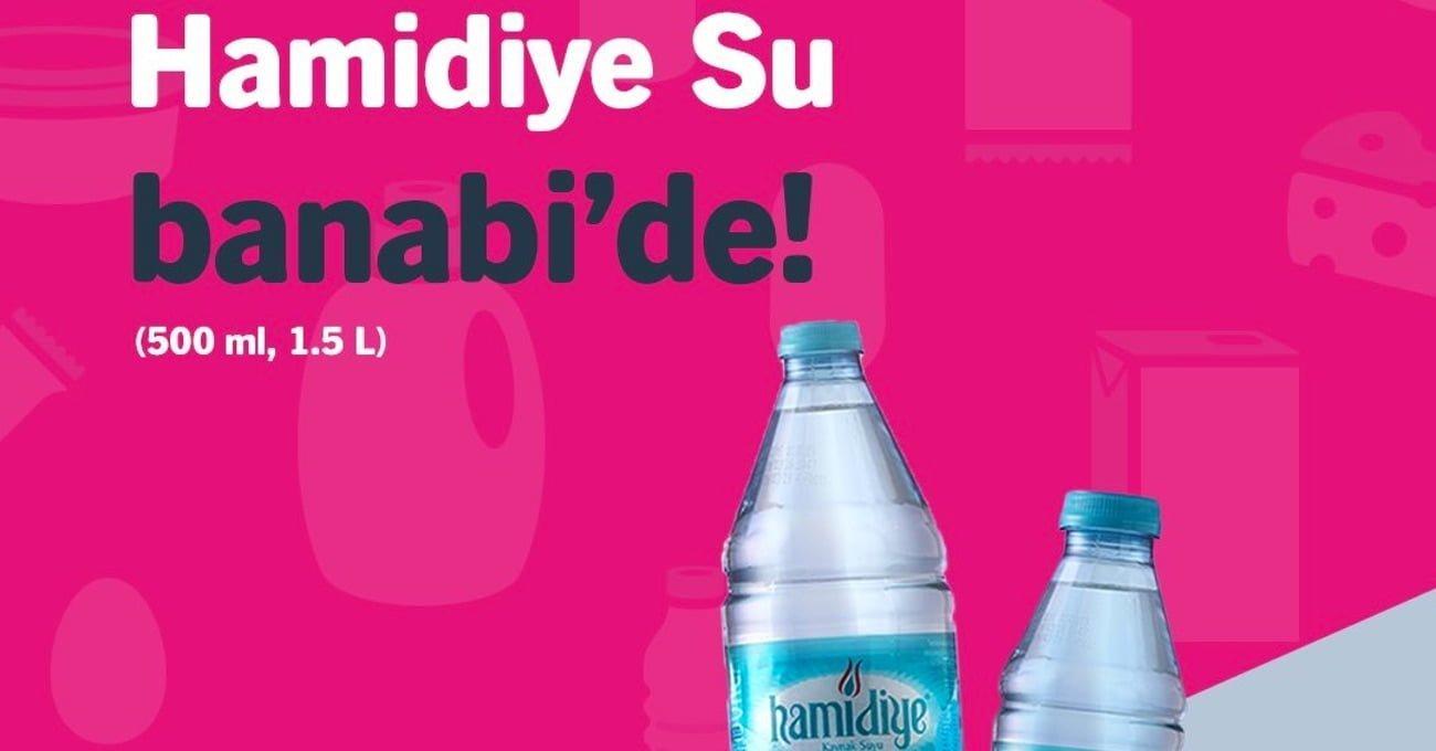 İstanbul Büyükşehir Belediyesi'nin İştiraki Hamidiye Su Banabi'de