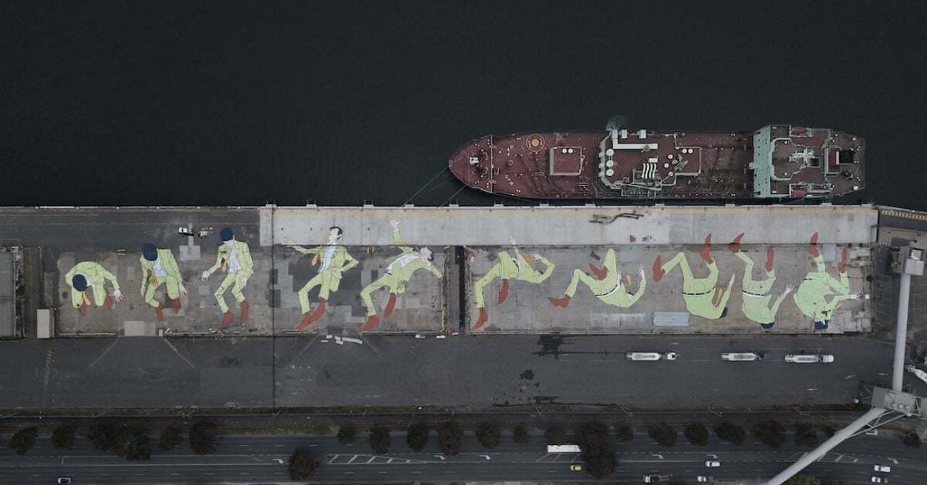 Kitt Bennett'tan Devasa GIF-Mural