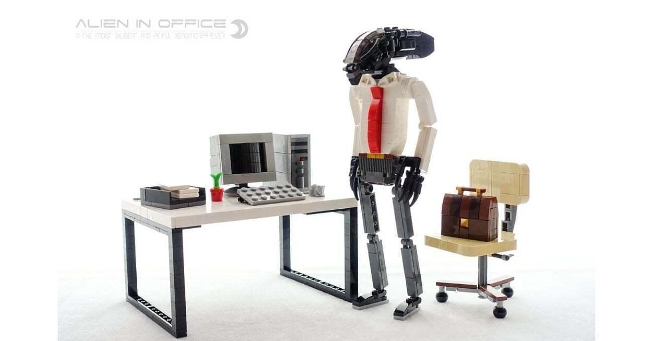 Hafta Sonlarını İple Çeken Ofis Çalışanı Yaratık