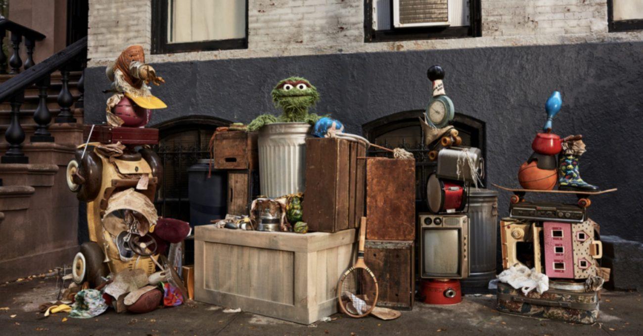 Oscar the Grouch Squarespace Sayesinde Sanat Camiasının Tozunu Attırıyor